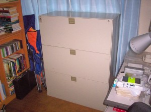 My new file cabinet