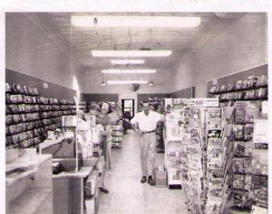 The Book Center, May 1970. In the early 1980s, many a D&D meeting was held in this store's basement -- a D&D group that was also part book club. . . .